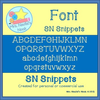 Font SN Snippets
