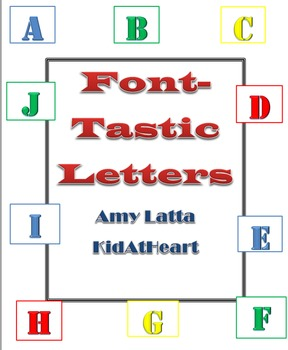 Font-Tastic Letters