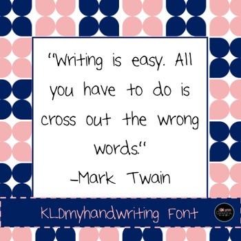 Font (myownhandwriting)