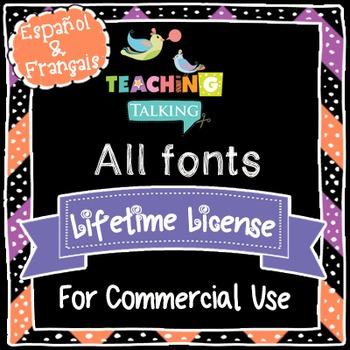 Fonts - CU license