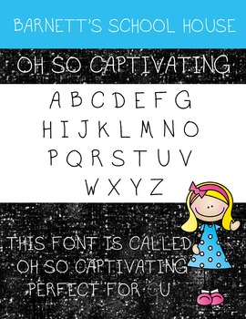 Fonts: Oh So Captivating Commercial Use Lifetime