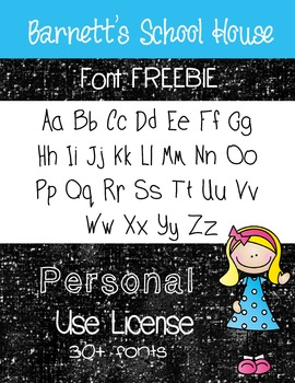 Fonts - Personal Use Lifetime License