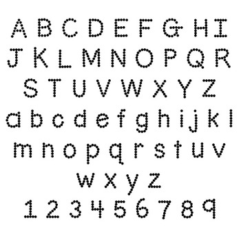 Fonts- TeachingNinjas Dots