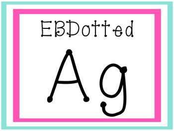 Fonts by Miss Emily Rose- EBDotted