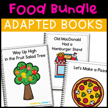 Food Adapted Book Bundle: 4 Food Adapted Books for Student