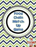 Food Chain Match up Game