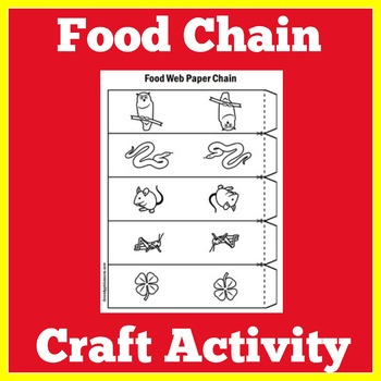 Food Chain Craft Activity