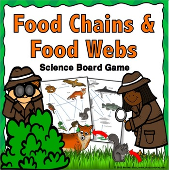 Food Chains and Food Webs Task Cards: A Food Chains and Fo