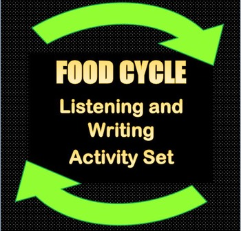 Food and Energy Cycle Listening and Writing Activity Set