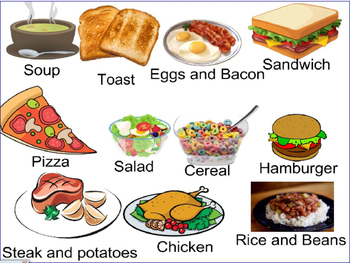 Food, Food pyramid, restaurant and cooking