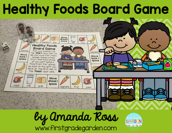 Food Group Board Game