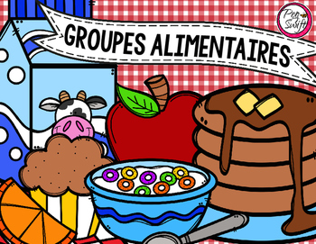 Food Groups Flip Book - FRENCH