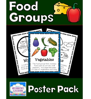 Food Groups Poster Pack