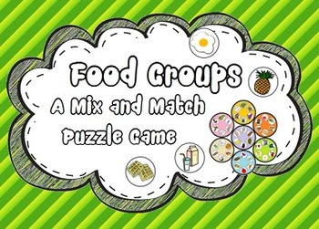 Food Groups Puzzle Game