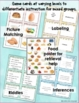 Picture Inferences Bingo Game: Food!