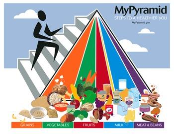 Food Log- Food Pyramid Unit