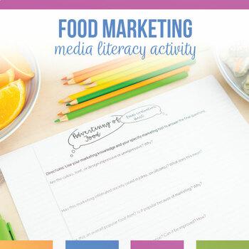 Advertising of Food: Media Analysis Activity