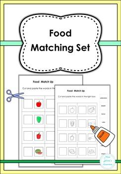 Food Matching Set
