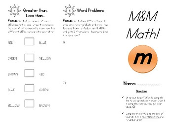 Food Math: M&M Math!