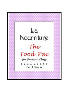 The Food * Pac For French Class
