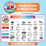 Reading With Color: Foods Poster & Word Cards