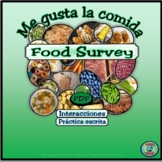 Food Preferences Class Survey / Una encuesta de tus prefer
