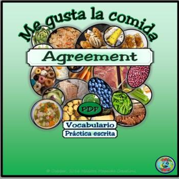 Food Preferences Fill In Worksheet / Preferencias de comid