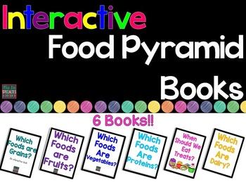 Food Pyramid Interactive Books