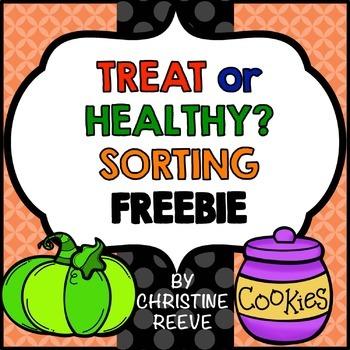 Food Sorting Free Worksheets (Special Ed.; Life Skills; Au