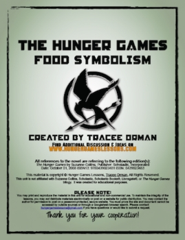 Food Symbolism in The Hunger Games - In Depth Lesson