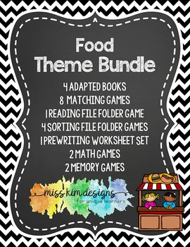 Food Theme Bundle: 22 Food Themed Products