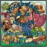 Food Categories Vocabulary Reference / El vocabulario de l