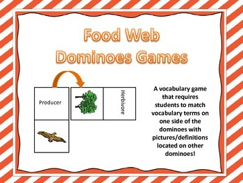 Food Web Dominoes Game