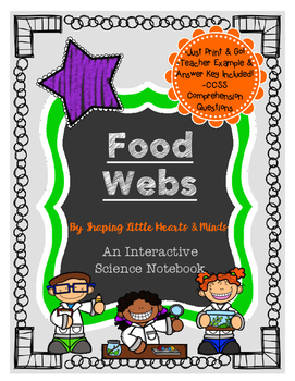 Food Webs- Science Interactive Notebook & Journal