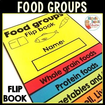 Food groups - Flip Book