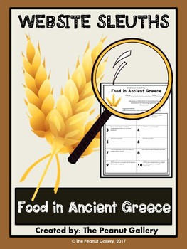 Website Sleuths: Food in Ancient Greece