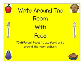 Foods Write the Room