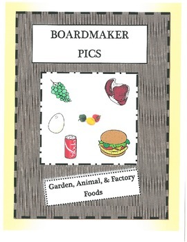 Foods-animal, factory, and garden categorization