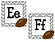 Football Alphabet Headers