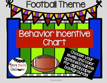Football Behavior Chart