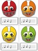 Football Blitz!  Melodic Games for Practicing re (mi-re-do only)