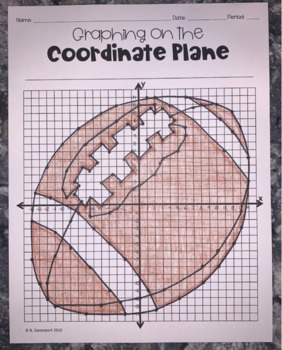 Football (Coordinate Graphing Activity)