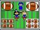 Football Dolch Pre-Primer - 3rd Grade Sight Word Flashcard