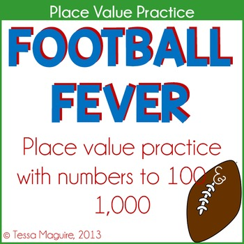 Place Value Centers: Football Fever