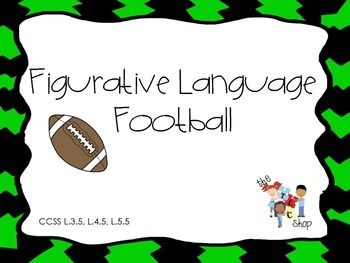 Football Figurative Language