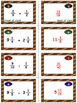 Football Frenzy Game Cards (Add & Subtract UNLIKE Fraction