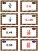 Football Math Skills & Learning Center (Converting Fractio
