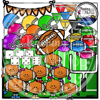 Football Clipart Bundle