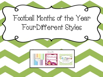 Football Months of the Year