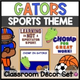 FLORIDA GATOR SPORTS THEME CLASSROOM DECOR for BACK TO SCHOOL